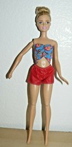 Mattel Barbie Pull String rotating arm ball jointed legs - $10.98