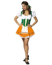 Sexy Beer Garden Girl Costume (Size X-Small)  Theater Costumes German Wench - $33.58