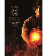"Mortal Kombat Poster 2021 Simon McQuoid Liu Kang Film Art Print 24x36"" 2... - $10.90+"