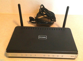 D Link DIR 615 wireless N router WIFI 4 port 10/100 300mbps dual band 802.11N - $20.02