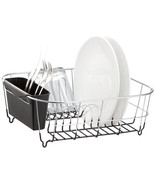 Neat-O Deluxe Chrome-Plated Steel Small Dish Drainers (Black) - $20.99