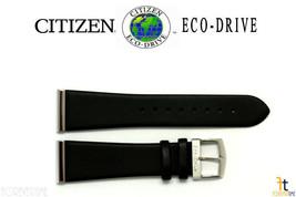 Citizen Conducción Ecológica. B023m-s052998 23mm Cuero Negro Correa de R... - $65.26