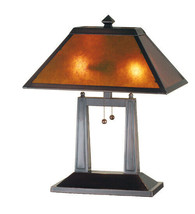 Home Office Desk Lamp w Mica Lamp Shade - $504.90