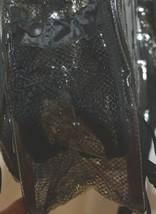 Unbranded Item Clear Netted Backpack Black Trim  Large Five Pockets image 2