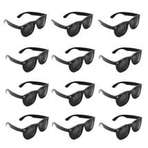 Super Z Outlet Plastic Black Vintage Retro Style Sunglasses Shades Eyewe... - $12.81