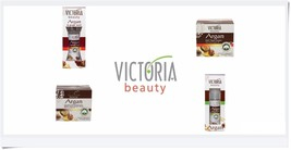 Victoria Beauty 100% natural Cream & Gel Liquid Pure Argan Oil All Skin ... - $7.45+