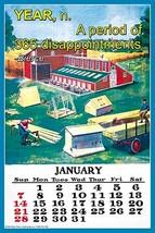 Year n. A period of 365 disappointments. (A. Bierce) by Wilbur Pierce - Art Prin - $19.99+