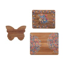 The Pioneer Woman Acacia Cutting Board Set, Mazie, 3 Pieces - $43.92