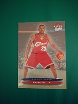 Fleer 1994 LeBron James 171 Nba Caveliers 23 Card - $150.00