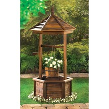 Rustic Wishing Well Planter - $239.95
