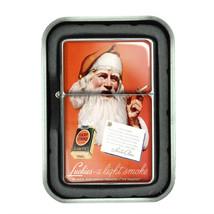 Lucky Strike Oil Lighter Vintage Santa Cigarette Smoking Ad Classic Logo D3 - $13.81