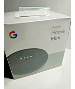 Google Home Mini Charcoal Smart Small Speaker Brand New in Sealed Box - $22.75