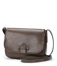 FRYE Casey Crossbody Leather Bag Purse Charcoal - $217.55