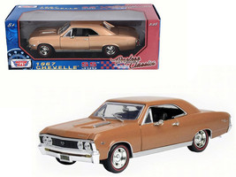 1967 Chevrolet Chevelle SS 396 Golden Brown Timeless Classics 1/18 Dieca... - $55.42