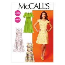 McCall Pattern Company M6958 Misses'/Miss Petite/Women's/Women's Petite Dresses, - $14.21