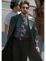 BRAND NEW CARLITO'S WAY CHARLIE BRIGANTE AL PACINO LEATHER TRENCH COAT J... - $109.99+