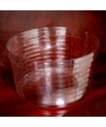 Longaberger 1998 JW Miniature  Apple / Fruit Basket Plastic Protector On... - $10.84