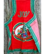 Joy Christmas Apron Fabric Panel - $12.99