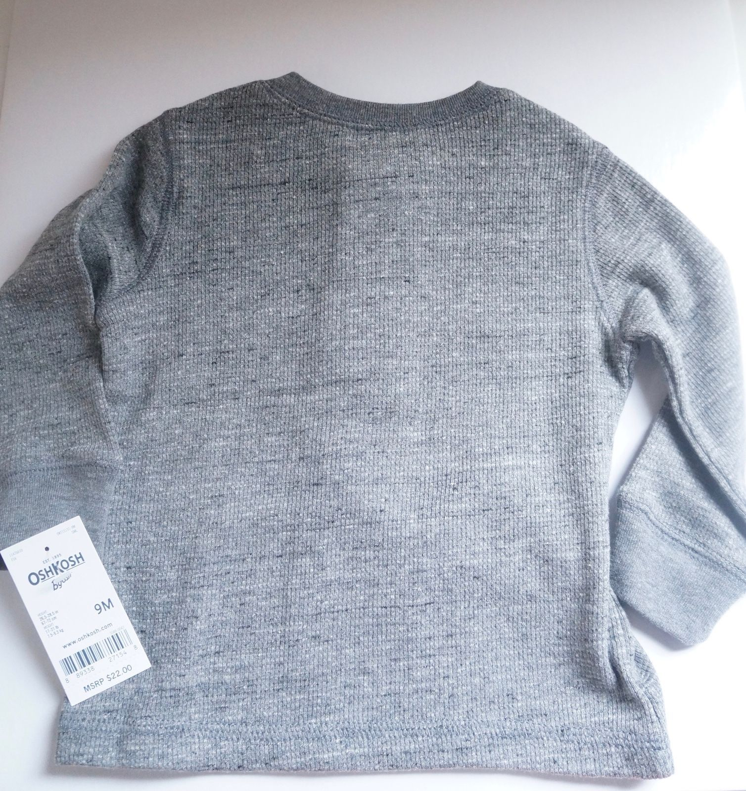 New Carter's Long Sleeve Pullover Shirt 9M