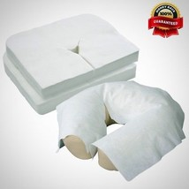 Disposable Massage Face Cradle Cover Medical Grade Soft Luxurious Non St... - $18.65