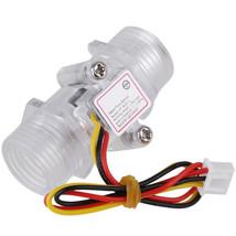 G1/2inch DN15 Transparent Water Flow Meter Flow Meter Hall Flow Sensor - $6.92