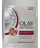 Olay Daily Facials 5-in-1 Daily Hydrating Clean w/ Grapeseed: 33 Dry Cloths - $11.88