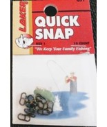 Laker Quick Snaps size 1 - QS1 - 10/pkg - sold in lots of 5 pkgs (BFP) - $8.00
