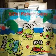 "Sanrio Vintage Kero Kero Keroppi Picnic Seat 39.3x26.7"" New Rare Cute - $58.81"