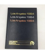 Los Angeles 1984 Olympics Commemorative Book Inscribed Signed by Peter V... - $19.95