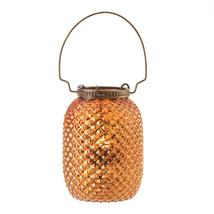 Amber Diamond Candle Lantern - $10.40