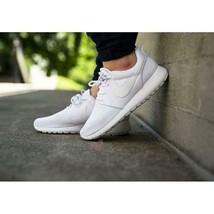 Nike Roshe Run Pure Platinum White running shoes size 8.5, EUR 40 511882... - $64.52