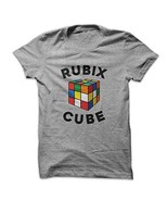 Mad Over Shirts Rubix Cube Gamer Player Champ Men's Medium Grey T Shirt - $23.47