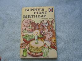 Vintage 1950 Lady Bird Book Bunny's First Birthday  Series 401 - $7.58