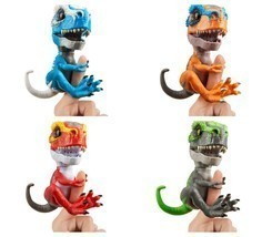 Wowwee Untamed T-Rex Dinosaur Fingerlings Interactive Collectible Sound Move Toy - $13.99