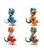 Wowwee Untamed T-Rex Dinosaur Fingerlings Interactive Collectible Sound ... - $268,85 MXN