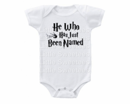 Harry Potter Onesie He Who Has Just Been Named Shirt - $15.00