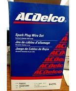 OEM AC Delco 758EE Ignition Spark Plug Wire Set For Escalade Corvette Yu... - $73.63