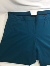 Lane Bryant Women Blue  Dress Pants Cotton Stretch 44 Inch Width  Size 24 - $20.57