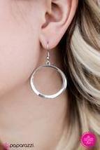 Whirlpool Wonder Silver Earring - $5.00
