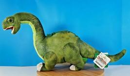 Wild Republic Dinosauria Diplodocus Plush Dinosaur Stuffed Animal With T... - $26.86