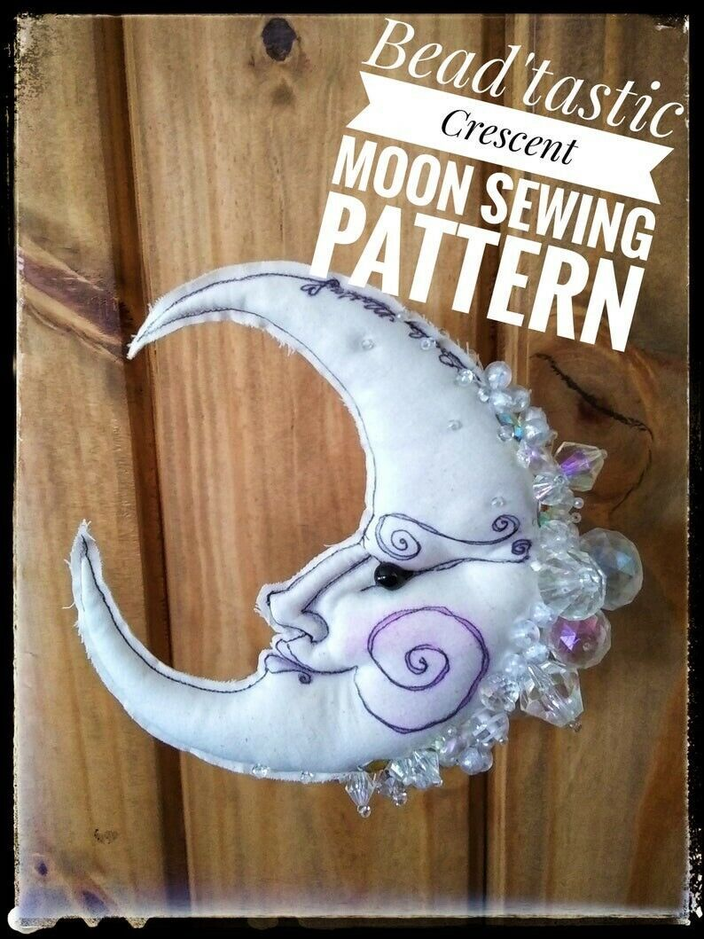 "Primary image for ""Crescent Moon 2"" PDF Digital E-Pattern Download By Paula McGee"
