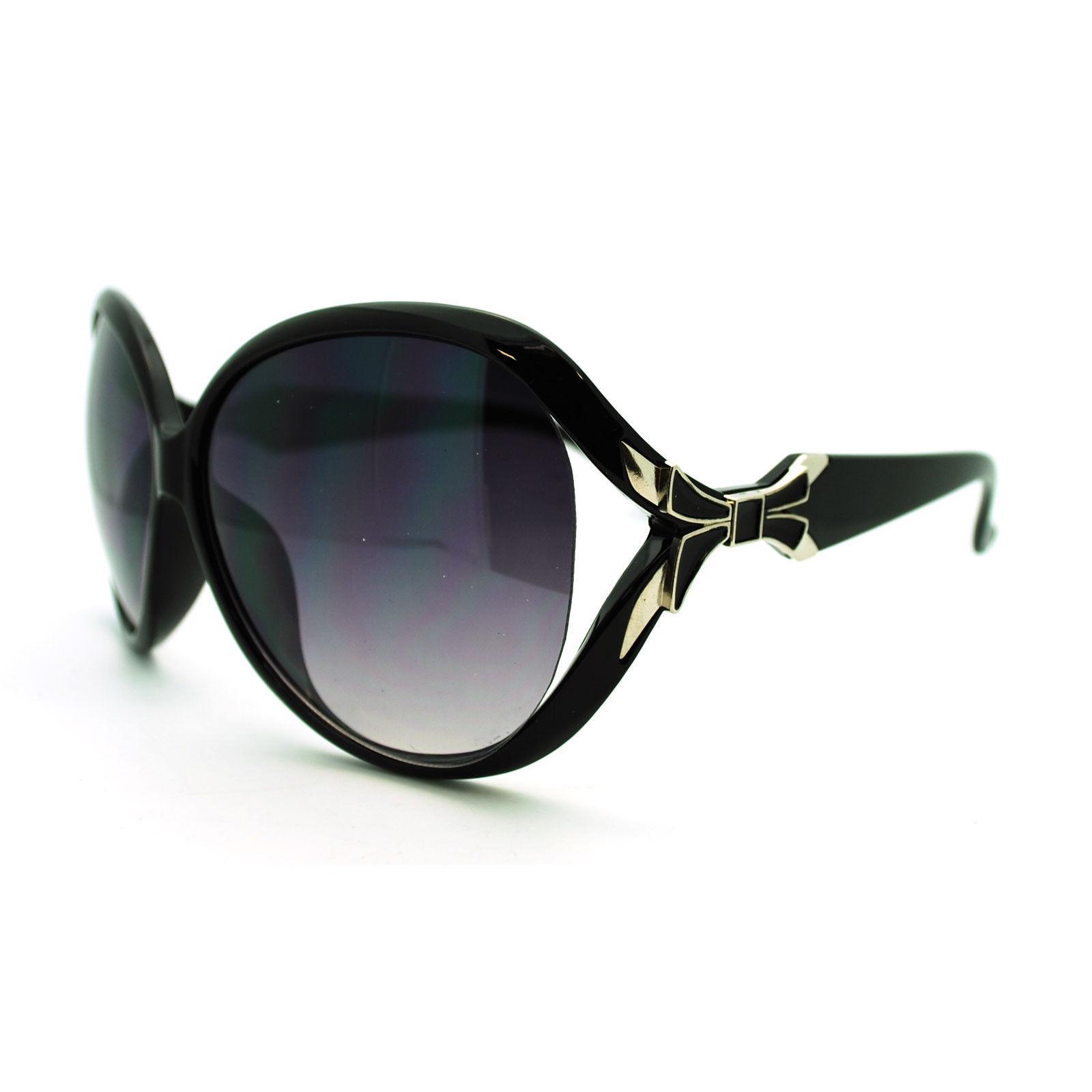 b4dda44490df S l1600. S l1600. Previous. Womens Butterfly Oversized Ribbon Emblem  European Designer Fashion Sunglasses