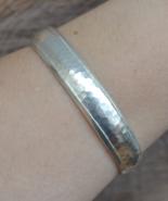 Cuff bracelet, sterling silver cuff bracelet, silver cuff bracelet, wide... - $99.99