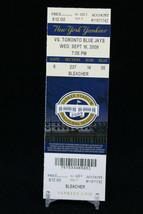 New York Yankees vs Toronto Blue Jays MLB Ticket w Stub 09/16/2009 Inaug... - $8.08