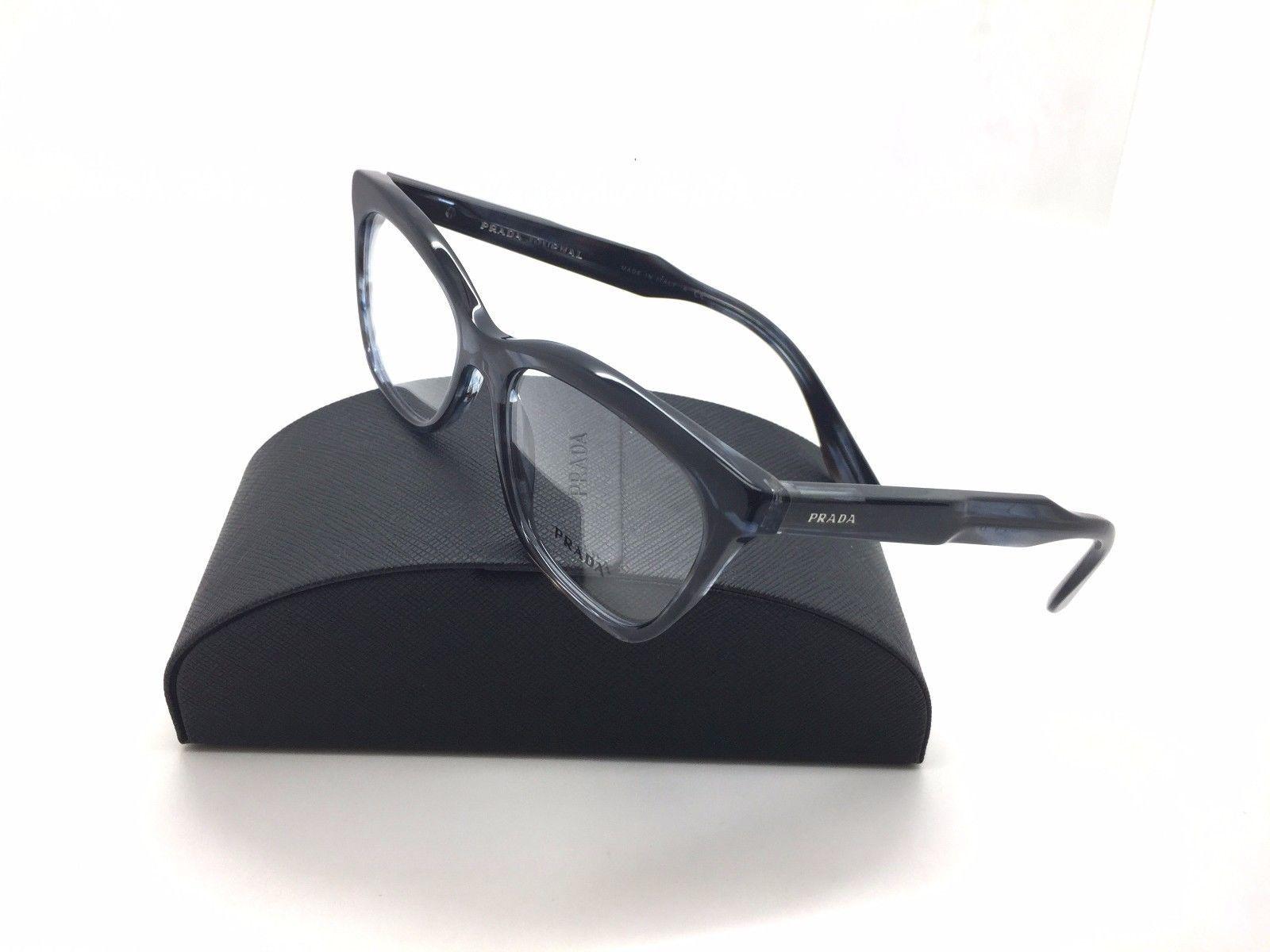 28b32ad8a1 Prada RX Eyeglasses VPR 24S UEQ-1O1 Striped and 50 similar items