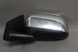 07 08 09 Chrysler Aspen Left Driver Side Power Chrome Folding Door Mirror Oem - $79.19