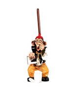 Adorable Monkey Toilet Paper Holder Bathroom Funny Novelty,25''H - $145.00