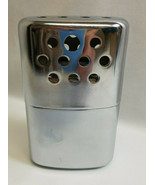 JON-E GI Hand Warmer Vintage 1950s Stainless Steel Chrome Plated Aladdin... - $17.82