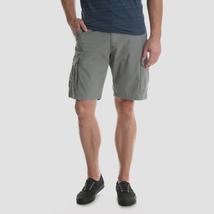 Wrangler Brand Cargo Shorts ~ Men's Size 46 ~ Gray Colored ~ Hits @ Knee ~ NWT - $23.76