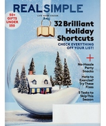 Real Simple December 2017 NEW  - $8.00